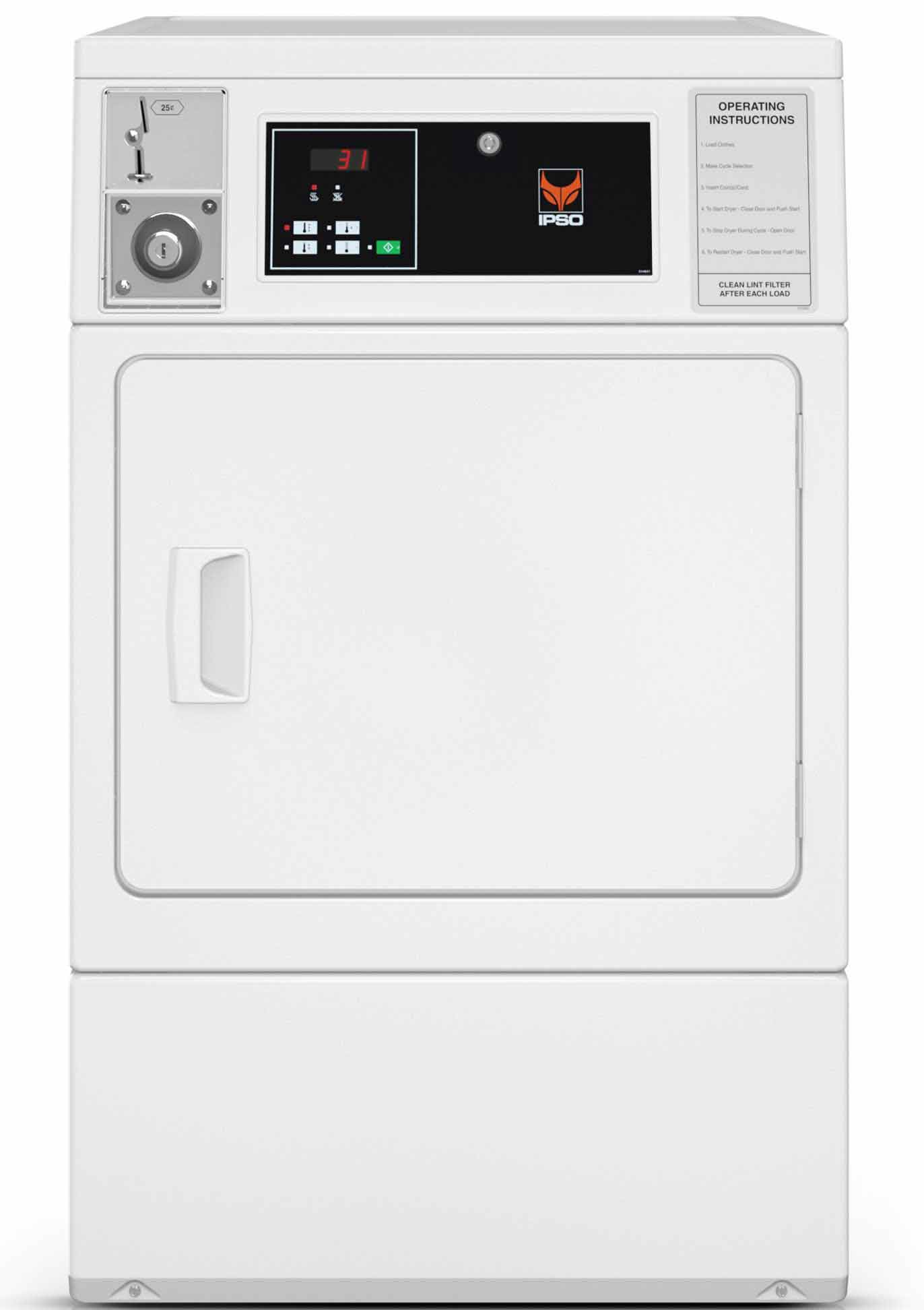 Small Dryer Front Control
